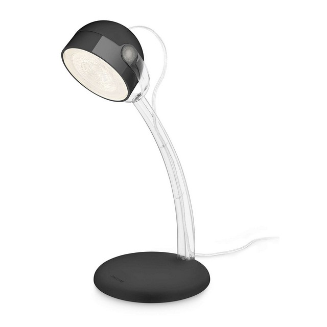 Lampada da tavolo led philips dyna nero mondobrico - Lampada da tavolo philips ...