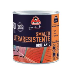 0.5L SMALTO ULTRARESISTENTE BRILL. MARRONE COL.300
