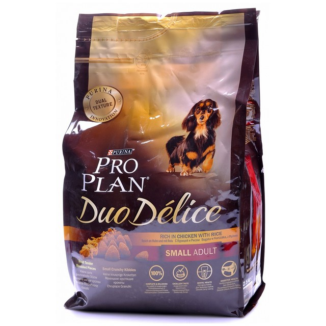 PRO PLAN DUO DELICE SMALL ADULT POLLO RISO 700 GR