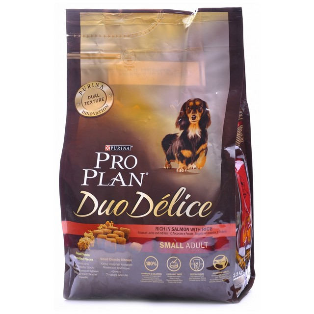 PRO PLAN DUO DELICE SMALL ADULT SALMONE RISO 700 GR.