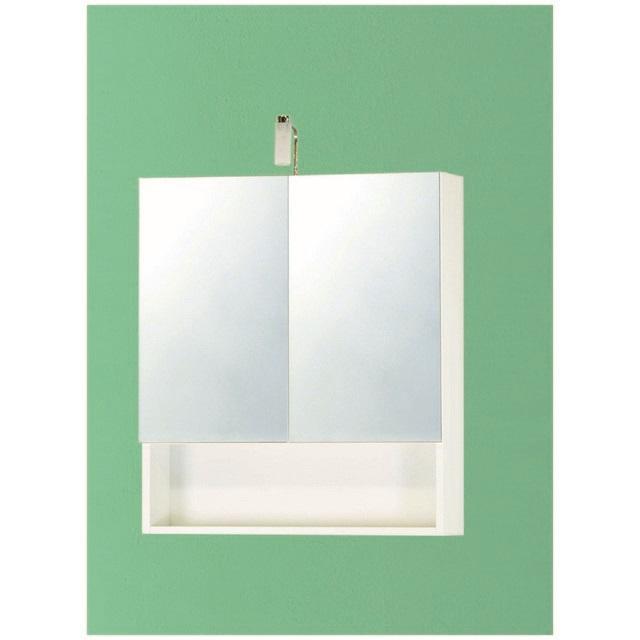 Pensile specchio con vano a giorno mondobrico bagno - Pensile specchio bagno ...