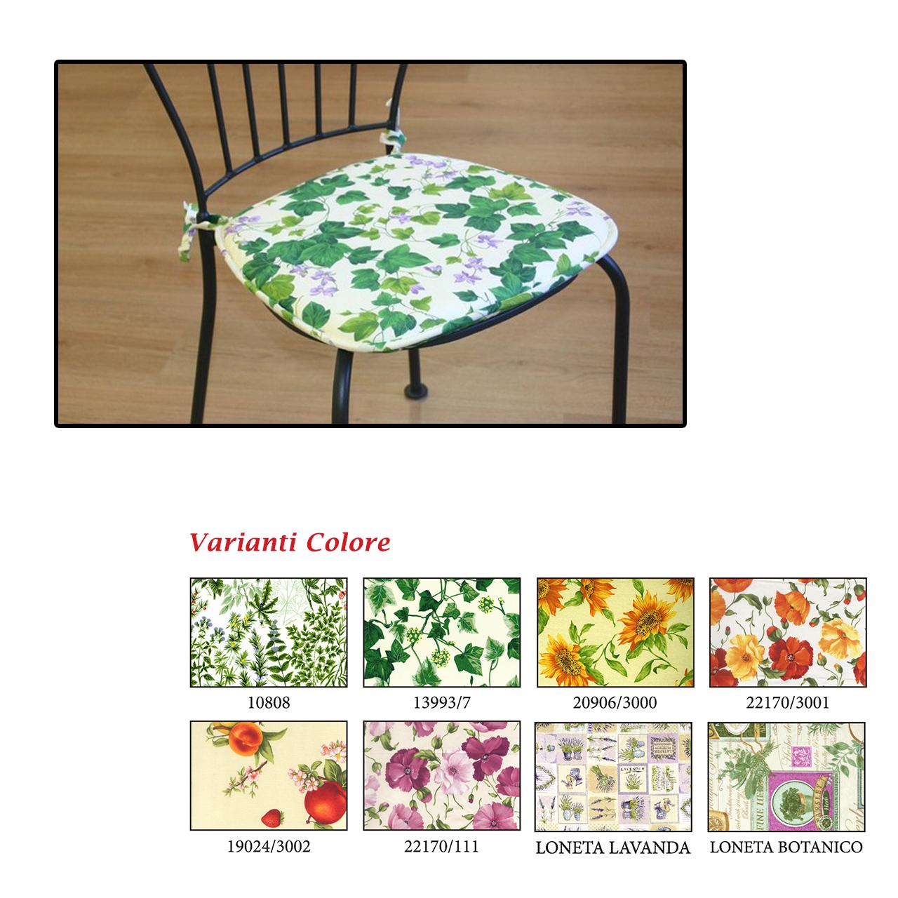 Cuscino forma sedia giardino mondobrico arredo giardino for Arredo giardino cuscini