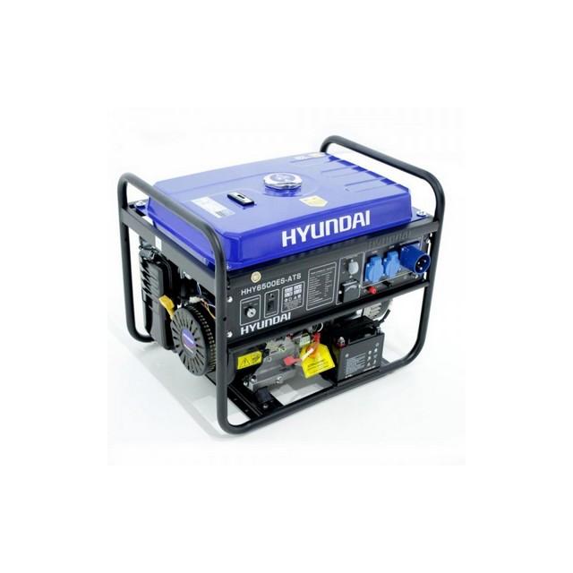 GENERATORE BENZINA HYUNDAI HY6500ES ATS 13 HP MOTORE 4T 65114