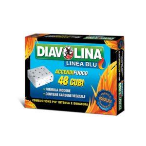 DIAVOLINA ACCENDIFUOCO LINEA BLU 48 CUBI