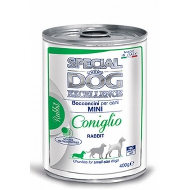 MONGE SPECIAL DOG EXCELLENCE BOCCONI MINI CONIGLIO GR 400