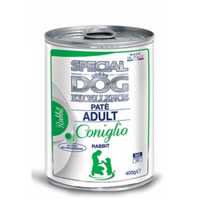 MONGE SPECIAL DOG EXCELLENCE PATE ADULT CONIGLIO GR 400