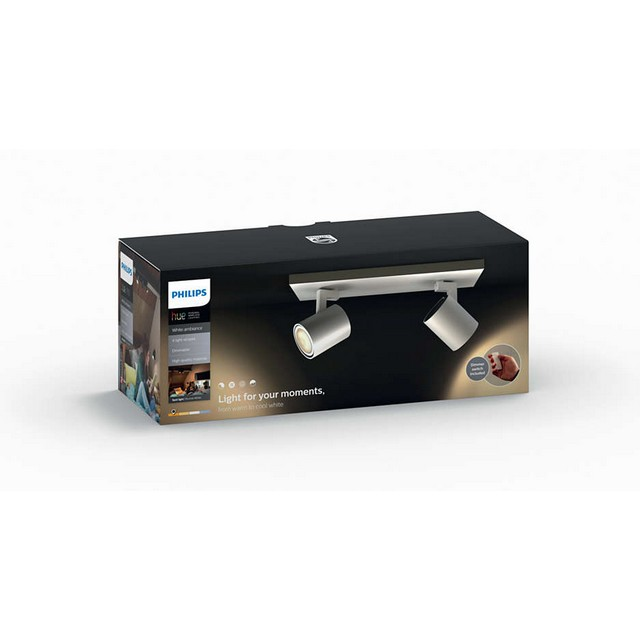 Philips runner hue 2 spot light 5309231p7 mondobrico - Philips illuminazione casa ...