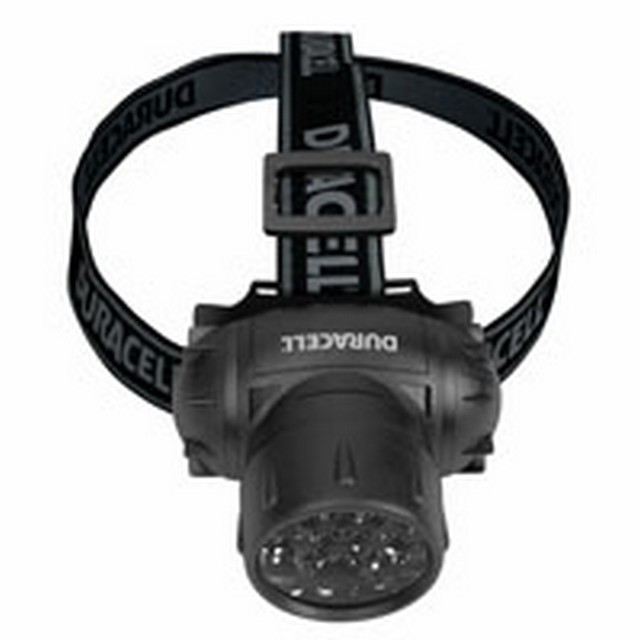 LAMPADA FRONTALE LED EXPLORER HDL 1 DURACELL